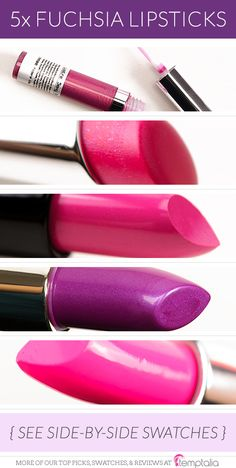 You don't have to spend a lot to add a really great fuchsia lipstick to your stash! Here are a few of my favorites :) I'd love to hear yours! Fyrinnae Sexy