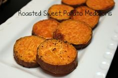 New way to try sweet potatoes. Made them in the toaster oven while the rest of my meal cooked. Way easy and tasty without the added fat and calories.
