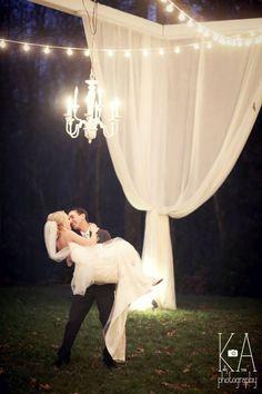 Romantic wedding photo Kelly Anne Photography