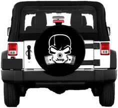 Black Size 33 Inch Spare Tire Cover Dont Follow Me Offroad Rock Climbing Mud 4x4 Fits: Jeep Wrangler Accessories, SUV, Camper and RV