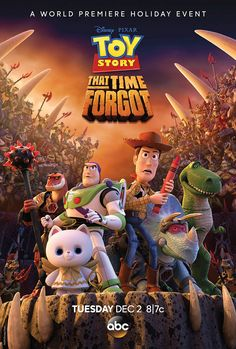 On December 2, 2014 at 8 p.m. ET, ABC will be showing a holiday special, Toy Story That Time Forgot, featuring the return of our favorite talking toys.