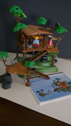 playmobil treehouse 5746 instructions