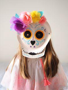 DIY : un masque d'Halloween Calavera – Les Moustachoux