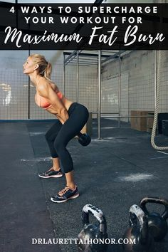 4 Ways to Super Charge Your Workout for Maximum Fat Loss - If you're exercising hard and getting no real results, don't despair. Try these science backed strategies to maximise the amount of fat burn you get from each and every workouts.