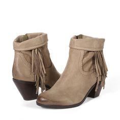 Louie Fringe Bootie - Boots | SamEdelman.com - $98