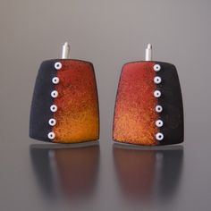 Ooh, I've Got Something to Show You!: Enamel Earrings