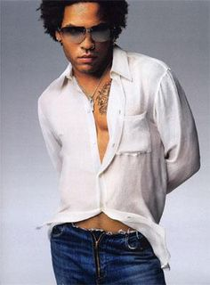 Lenny Kravitz  Lead me not into temptation... but if you do, make sure this man is leading the way!!!!