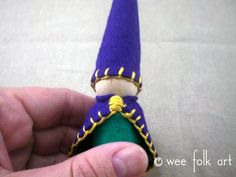 Enjoy creating a world of gnomes using our basic Waldorf peg gnome pattern. Many other peg people patterns are based off this original peg gnome pattern.