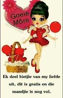 Pin by judy smith on goeiemre pinterest afrikaans afrikaans good morning greeting cards nice thoughts friendship kiss buen dia bonjour a kiss m4hsunfo Images