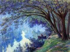 Claude-Emil Schuffenecker (1829-1954) - The Pond at Trivaux, 1894