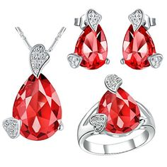 Virgin Shine Platinum Plated Rhinestones Hearts Drop Jewelry Sets Red VIRGIN SHINE http://www.amazon.co.uk/dp/B00L149UN2/ref=cm_sw_r_pi_dp_LU9Mub06XSDVC
