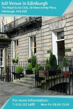 Situated in one of #Edinburgh's finest #Georgian streets, Abercromby Place, offering the very best in #facilities and service. #TheRoyalScotsClub is proud of its #heritage, with courtesy, personal service and warm hospitality is at the very heart of the Club. Find out more: http://www.iod.com/your-venues-and-benefits/iod-venues/edinburgh