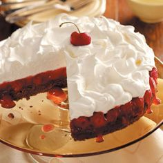 Black Forest Dessert Cake Recipe from Taste of Home
