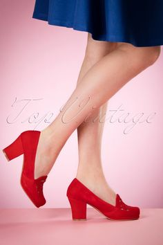 Miss L Fire Bernie Shoes in Red 400 20 17194 03242016 001W