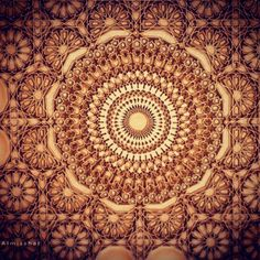 Wonderful islamic pattern; delight for the eye