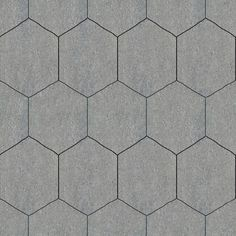 Tileable Hexagonal Stone Pavement Texture + (Maps) | texturise