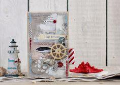 Special Day Cards: Задание №74. День Рождения в Морском Стиле