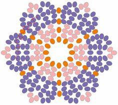 Esquemas: Flor huicholes