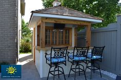 bar/shed = genius! Maybe we don't need to tear down the shed.  Awesome idea!