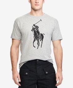 POLO RALPH LAUREN Polo Ralph Lauren Men'S Classic-Fit Big Pony T-Shirt. #poloralphlauren #cloth #shirts