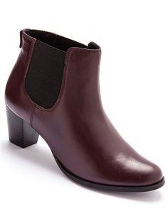 boots balsamik: valeur sûre pr mes pieds larges et le bordeaux, couleur phare de cet hivers