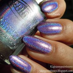 Love the color.. Not so much the shape of the nails