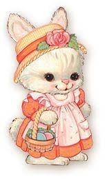 Cute Bunnies | Decoupage.net.br