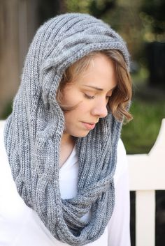 Ravelry: Cloudburst Cowl pattern by Emily Williams