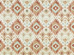 Pattern #42457 - 115 | Ikat Print Collection | Duralee Fabric by Duralee