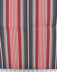 Walden Stripe Nautical - Indoor / Outdoor | Online Discount Drapery Fabrics and Upholstery Fabric Superstore!