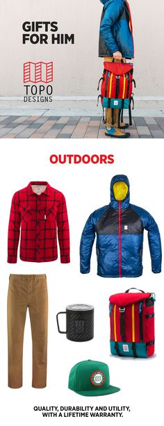 Gifts for the outdoorsman- shop gift guides for your brother, dad, boyfriend, or any guy how's happiest getting outside. #giftguides #GIftsforHim #giftsfordad