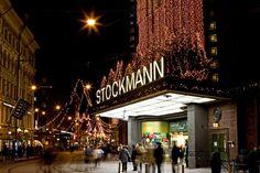 Stockmann Department Store, Helsinki Finland