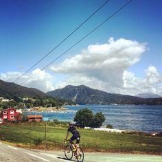 Cycling. Tysnes