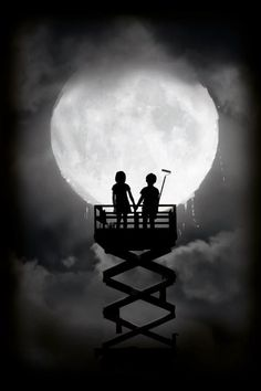You don't need to promise me the moon and stars....Just promise me that you'll stand under them,with me forever