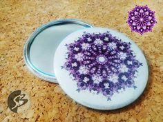 Mandala Design, Acai Bowl, Buttons, The Originals, Food, Acai Berry Bowl, Essen, Meals, Yemek