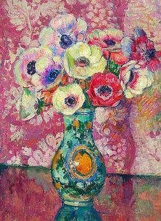 Theo van Rijsselberghe - Flower Poppies