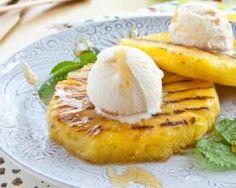 Ananas rôti au miel au barbecue : http://www.fourchette-et-bikini.fr/recettes/recettes-minceur/ananas-roti-au-miel-au-barbecue.html