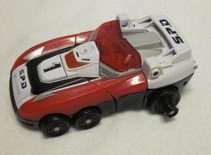 Power Rangers SPD Dekaranger Delta Squad DX Megazord Red 1 Car Vehicle Zord Part #Bandai