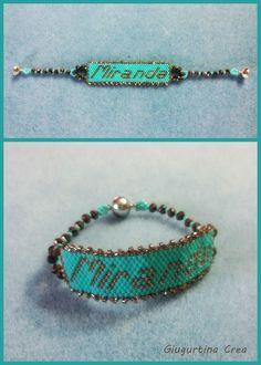 #delica11 #turquoise #turchese #bronze #bronzo #crystal #magnetclaps #miranda