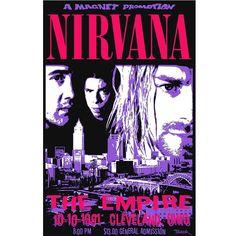 Nirvana 1991 Poster - £8.00
