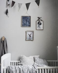 Rammer // old frames for the baby's room