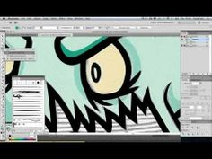 Make your own digi image, clipart, or graphics - How to convert a scanned drawing into vector artwork in Adobe Illustrator