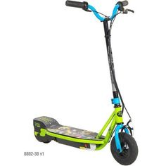 Once Upon a Zombie Girls' 24V Step Up Scooter, Green