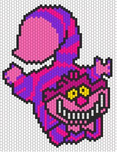 Cheshire Cat1 Bead Pattern