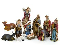 Nacimiento 11 Figuras Poliresina 16 Cm - Tienda De Hogar Y Jardin De Juinsa - Diversal