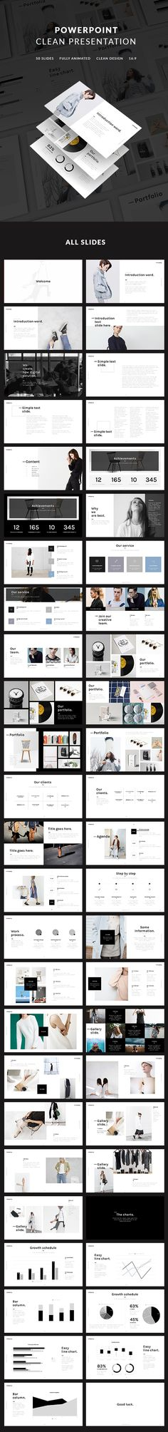 84 best free presentation templates images on pinterest in 2018 clean powerpoint presentation template download here httpsgraphicriver toneelgroepblik Image collections
