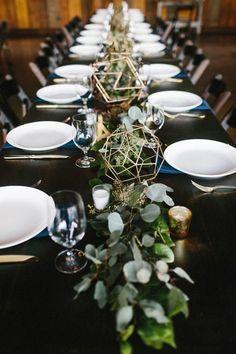 Rustic table setting from North Carolina Vineyard Wedding at The Vineyards at Betty's Creek | Junebug Weddings #thevineyardsatbettyscreek #winecountryweddings #VineyardWedding #winerywedding #rusticwedding #rusticweddingideas
