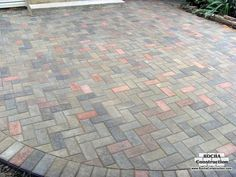 circular paver stone images creative designs adding circular ... - Pavers Patio Ideas