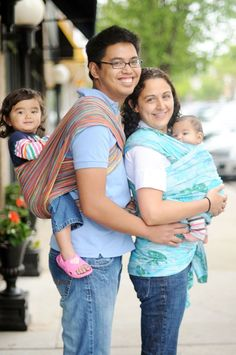 Babywearing FAQs - things your parents, in-laws, and strangers on the street will ask you while you wear your baby.
