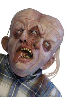 Gemini Latex Adult Mask From out of the woods comes one of the scariest creatures ever! Includes: Full over the head latex mask. Available Sizes: One size fits most Please read valuable information regarding latex products. Realistic Halloween Costumes, Scary Halloween Masks, Scary Mask, Adult Halloween, Halloween Horror, Halloween Ideas, Zombie Mask, Modern Halloween, Halloween 2018